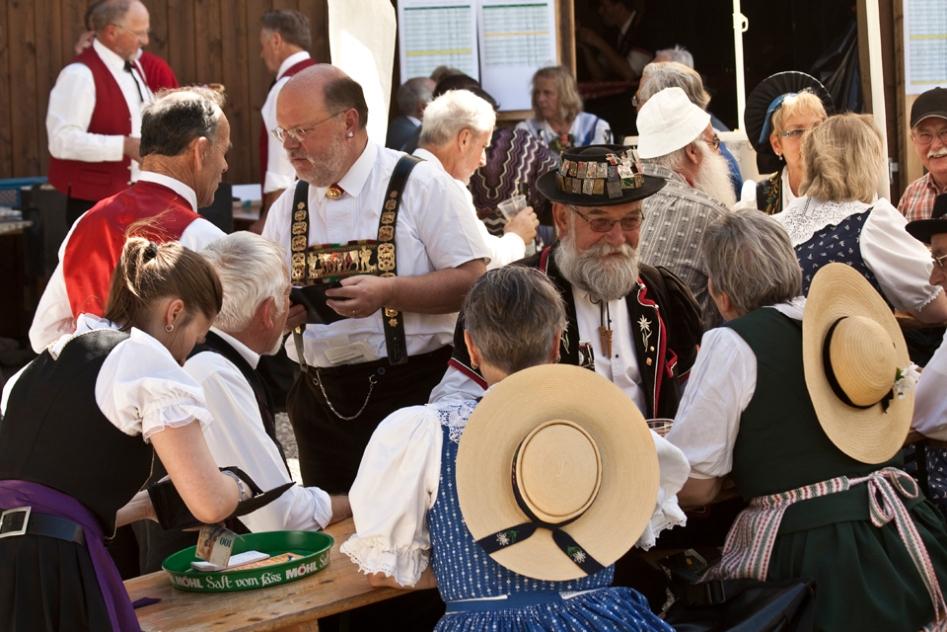Reportage: 32. NOSJV Alphorn- und Buechelwettblasen, Switzerland
