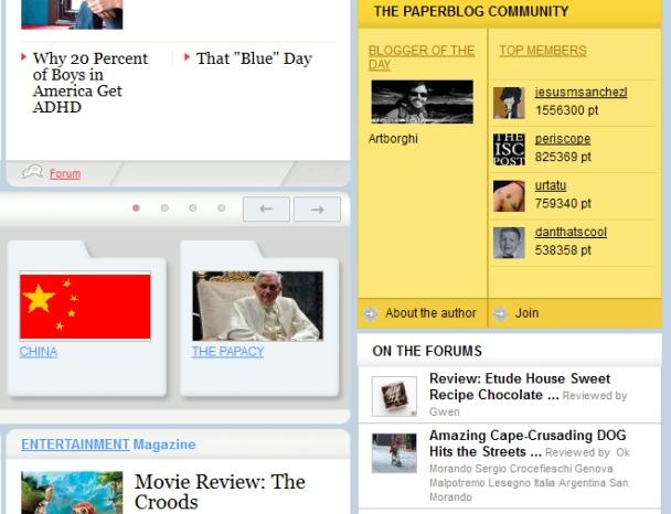 artborghi paperblog blog of the day