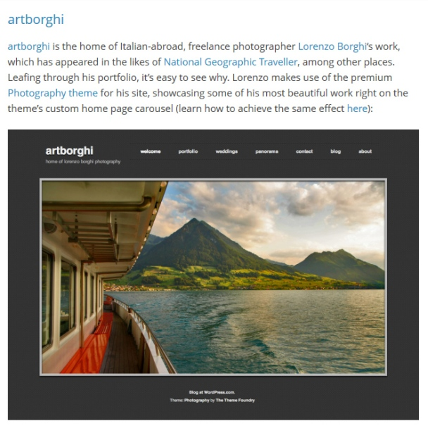 news wordpress artborghi