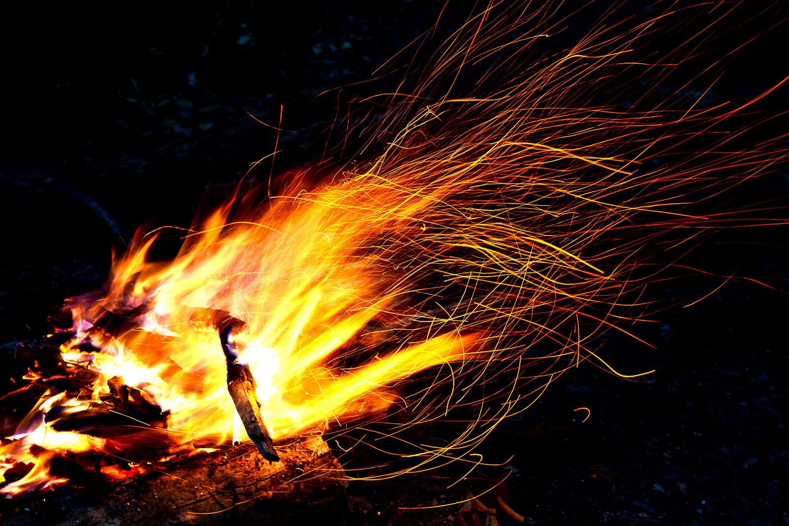 Settin' The Woods On Fire, but for good reasons ...