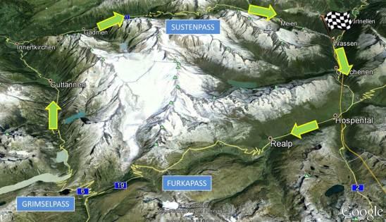 artboghi on the swiss roads MAP