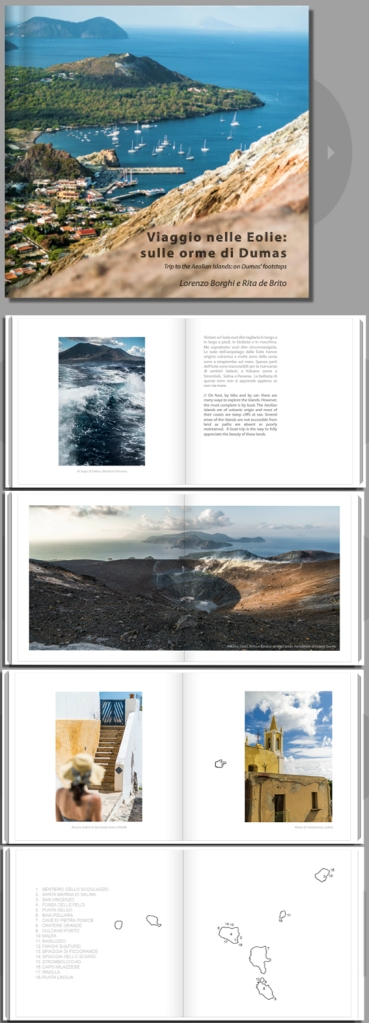 Trip to the Aeolian Islands: on Dumas' footsteps, artborghi art photography book