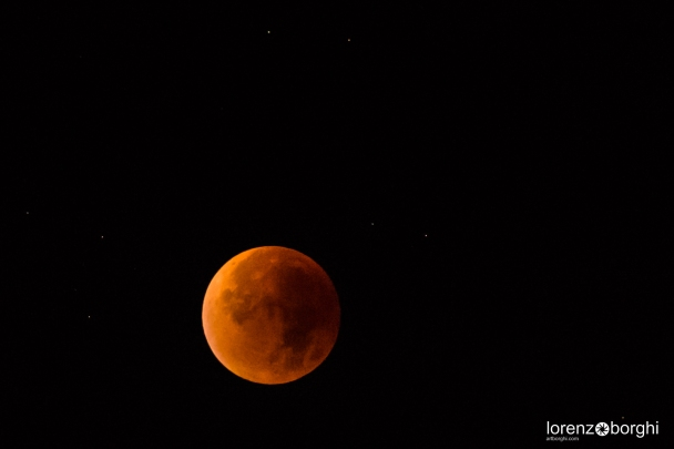 supermoon artborghi 2015 red moon