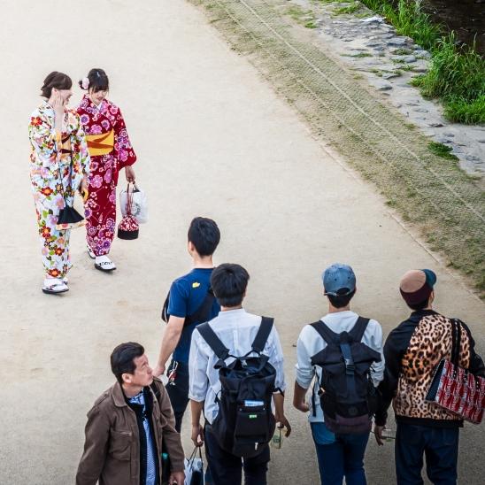 Kyoto's motto: dress (kimonos) 'til you drop