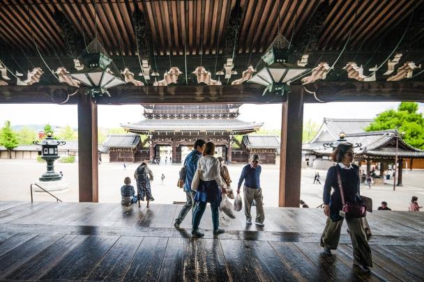 Higashi-Hongan-ji Temple, Kyoto