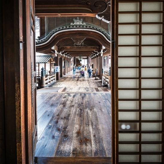 Paper doors, Higashi-Hongan-ji Temple, Kyoto