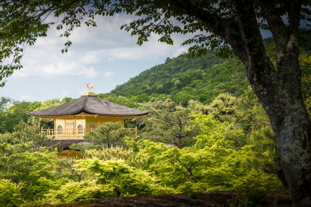 Kinkaku-ji (Rokuon-ji) Zen Buddhist temple, Kyoto