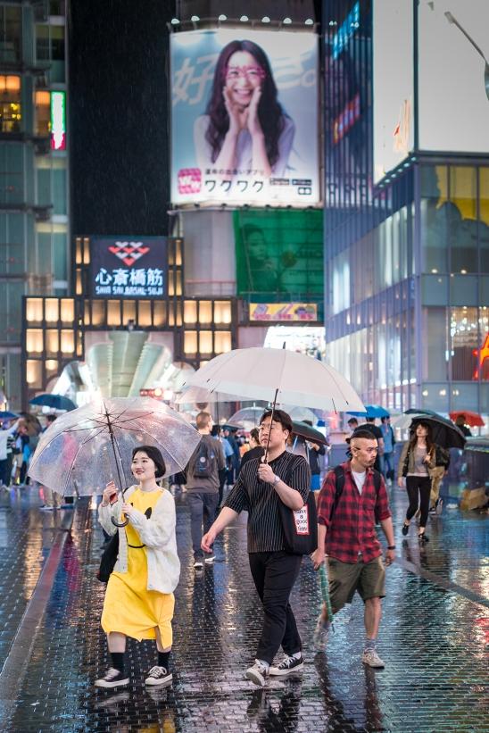 Dotonbori, night-life hottest-spot of Osaka.