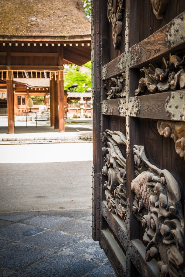 Main entrance to Toyokuni Shrine, Kyoto