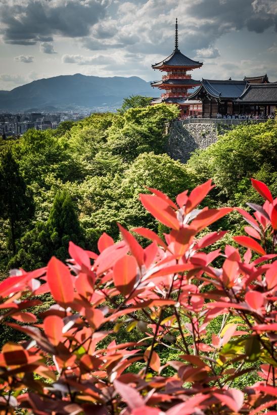 View on Kyoto from Kiyomizu-dera Temple