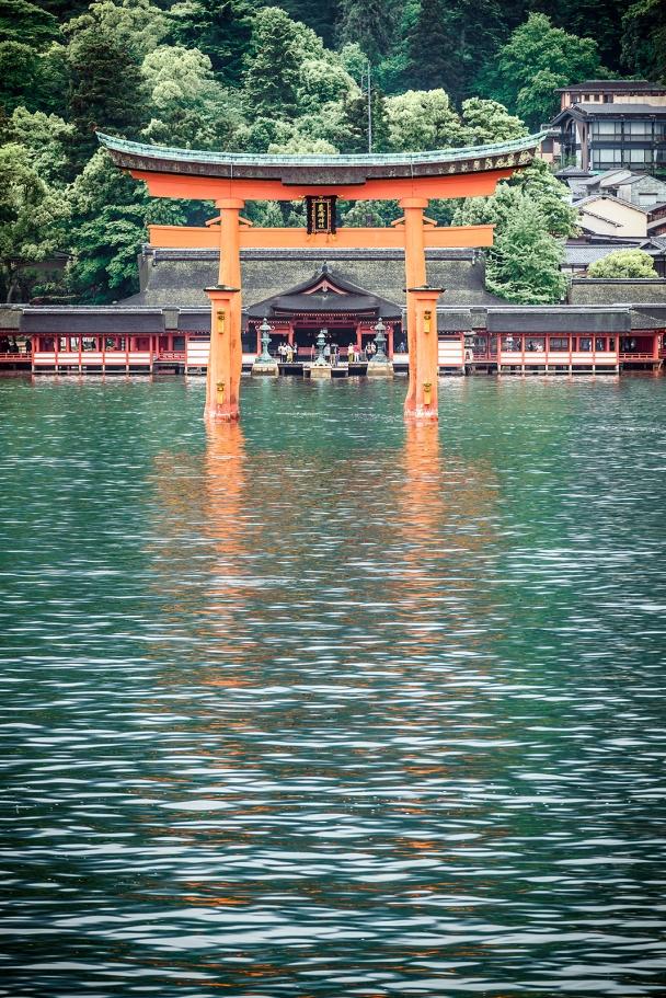 Itsukushima Shrine, Miyajima island, Hiroshima Bay.
