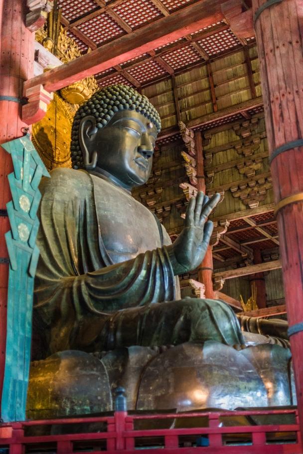 The greatest Buddha (Siddhārtha Gautama) of Nara
