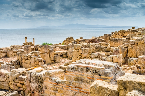 Tharros archeological area, Sinis peninsula