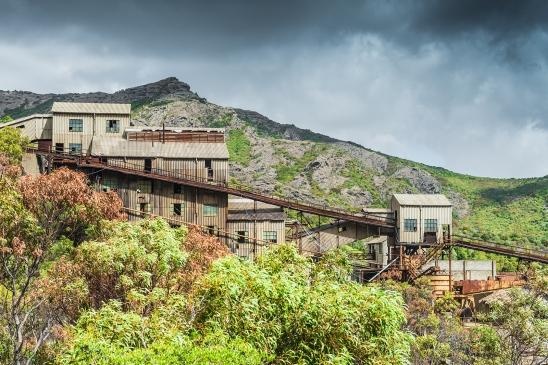 Rock conveyors, Montecchio mine