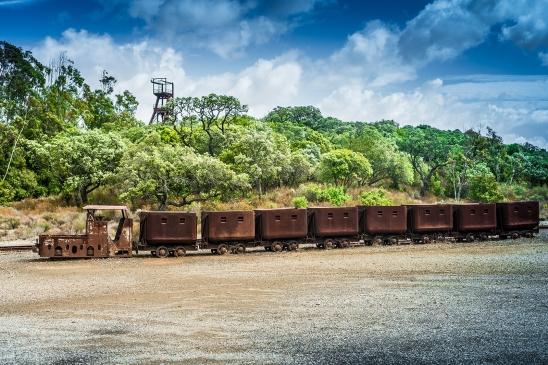 Mine train, Montecchio mine