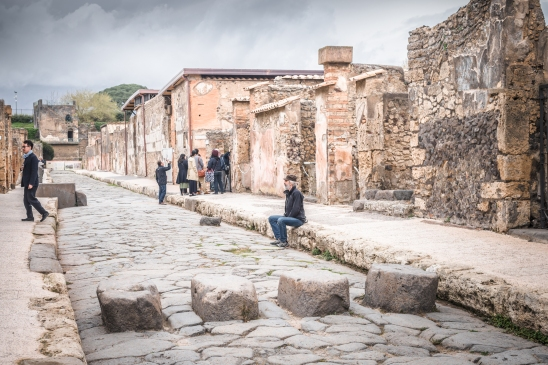 Flooded streets? The ancient Romans invented 3D pedestrians crossings, here in the archeological site of Pompei
