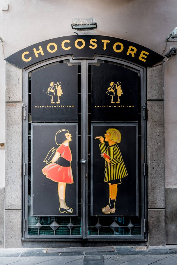 Chocolate store of Naples