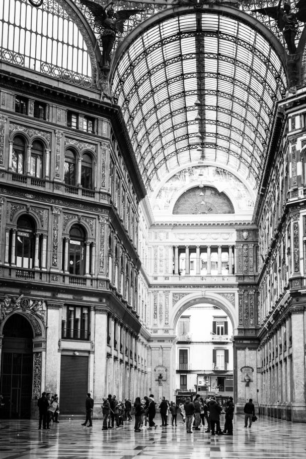 In Galleria Umberto I