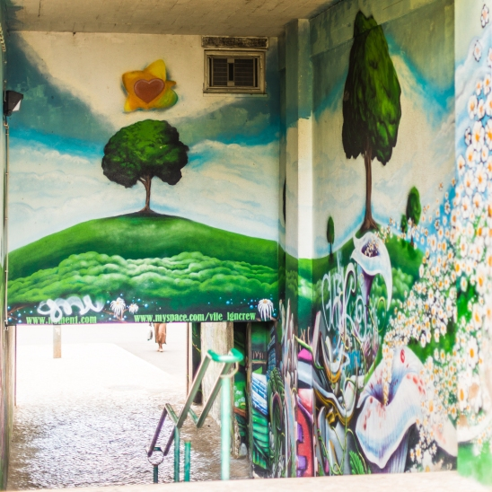 Urban art Linda-a-Vehla, Lisbon