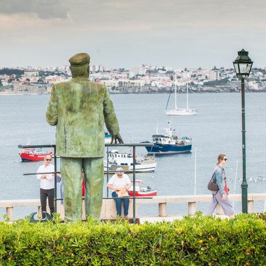 Statue of King Don Carlos I, Cascais