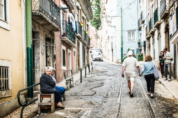 Bairro de Alfama , Lisboa