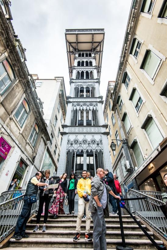 Elevador de Santa Justa, Lisbon